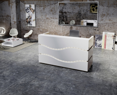 reception desk rivage